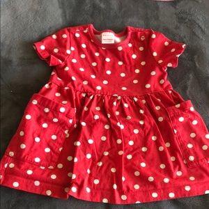 Hanna Andersson Polka Dot Dress - Like New!